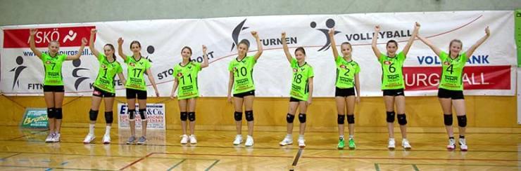 U15 Team des ASKÖ Volksbank Purgstall