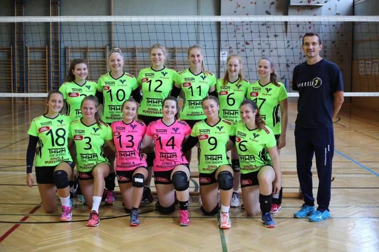 ASKÖ Purgstall Landesliga Volleyball Damen Teamfoto 2020