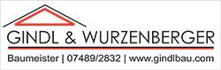 Gindl Wurzenberger Logo, Unterstützer der ASKÖ Volksbank Purgstall Volleyball